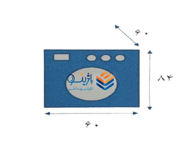 اندازه ماشین لباسشویی