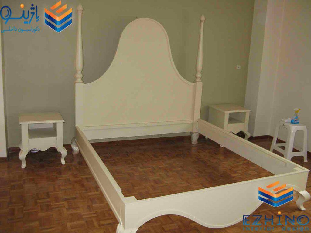تخت چوبی