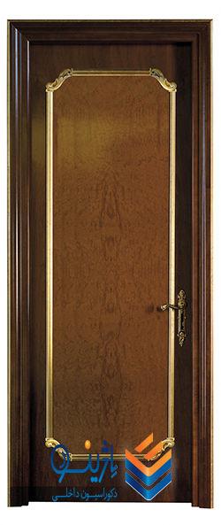 درب چوب مدرن