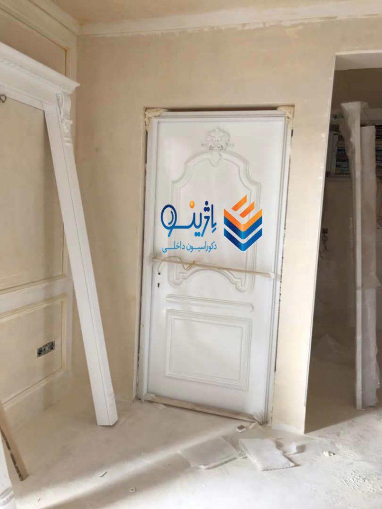 نصب درب چوبی