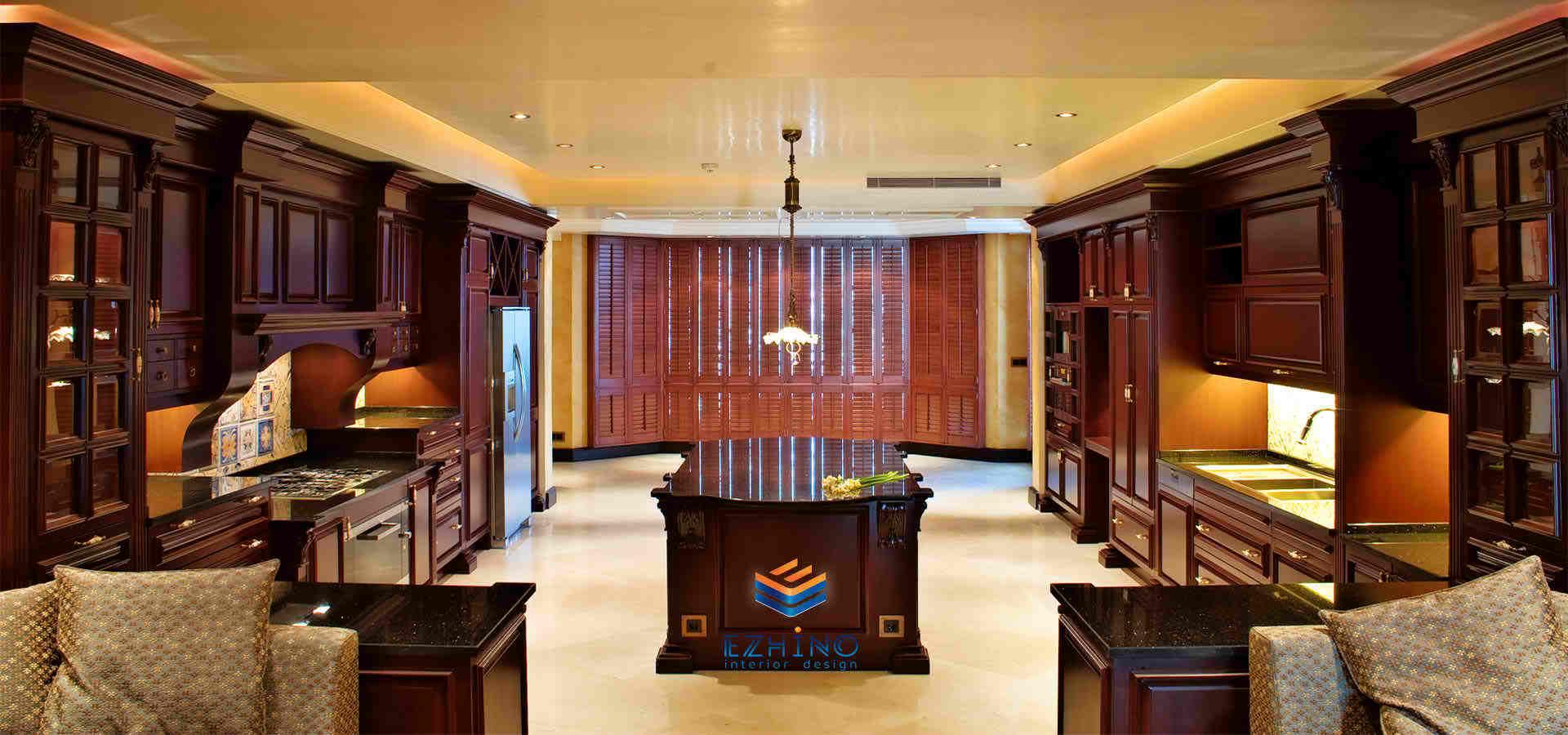 کابینت و دکوراسیون داخلی|درب تمام چوب، لابی|های گلاس